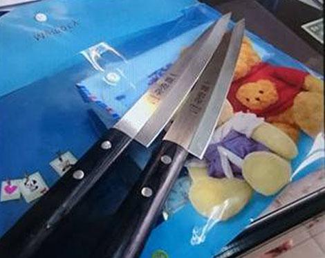 Cặp dao mà Long Ma luôn mang bên mình khi trốn truy nã.