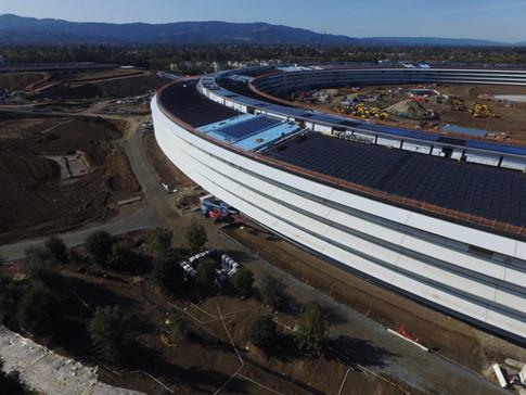 Trụ sở mới của Apple sẽ sử dụng rất nhiều tấm kính cong