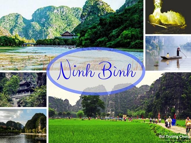 Cảnh đẹp Ninh Bình.