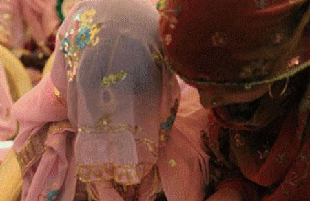 Chú rể đòi hủy hôn sau khi nhìn thấy mặt cô dâu. Ảnh minh họa: Rikhtopash