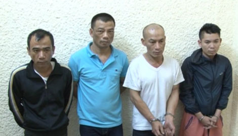 Đồng phạm của Long Ma sa lưới: Hoàng Quốc Hùng, Nguyễn Văn Thắng, Nguyễn Xuân Trường, Mai Vũ Long.