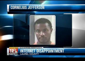 Cornelius bị bắt vì tấn công bạn gái. Ảnh: Nydaily.