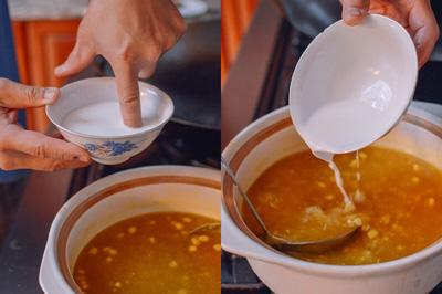 Súp gà nóng hổi ngon mê ly cho buổi sáng