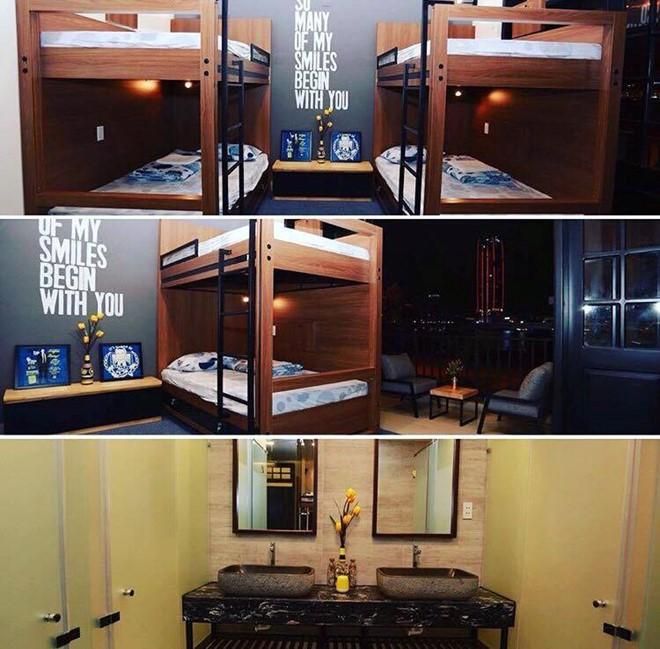 Hostel được thiết kế hiện đại, tinh tế, nội thất sang trọng. Giá phòng ở đây chỉ từ 160.000 đồng/đêm. Ảnh: Backpack.