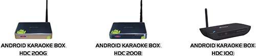 Karaoke Box HDC200 cấu hình mạnh