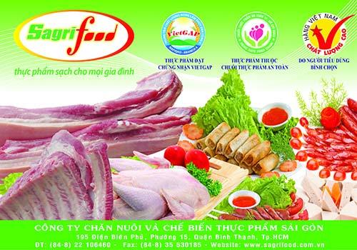 Chuỗi cửa hàng thực phẩm sạch Sagrifood
