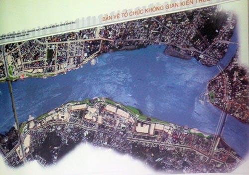 Phối cảnh thiết kế đô thị ban đầu