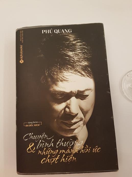 Cuốn hồi ký có giá 1 triệu đồng của nhạc sĩ Phú Quang