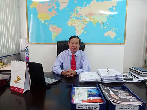 """Ông Võ Văn Thiệu, Giám đốc Sagrifood, cho biết giữa tháng 10 tới sẽ cho ra thị trường sản phẩm """"Thịt heo thảo mộc Sagri"""""""