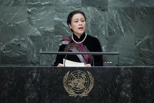Đại sứ Nguyễn Phương Nga, Trưởng Phái đoàn đại diện thường trực Việt Nam tại Liên hợp quốc - Ảnh: UN