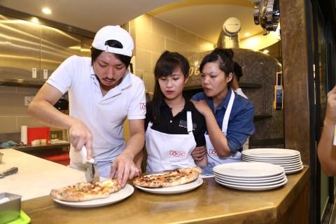 Pizza Logic dạy nghề cho thanh niên kém may mắn