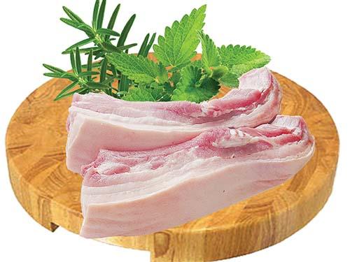 Thịt heo ba rọi thảo mộc