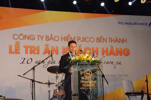 Ông Trần Nam Phong Giám đốc PJICO Bến Thành phát biểu khai mạc