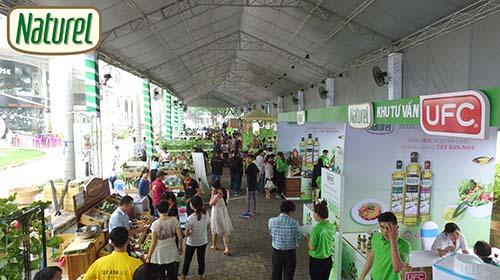 Một góc ngày hội Nông trại xanh Phú Mỹ Hưng 2016