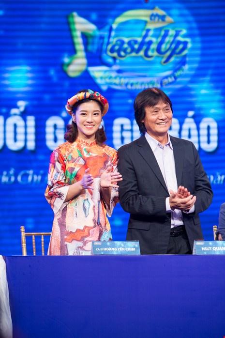 The mash up- Hoán chuyển bất ngờ- chương trình truyền hình mà NSUT Quang Lý tham gia cuối cùng để được gần với khán giả.