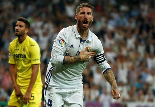 Sergio Ramos kịp chuộc lỗi sau khi tạo ra bàn thua từ chấm 11 mét