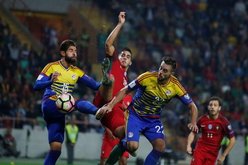 Bồ Đào Nha có chiến thắng dễ dàng trước tí hon Andorra