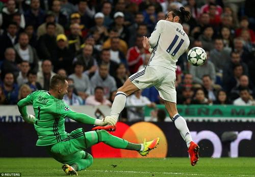Gareth Bale mở tì số cho Real Madrid