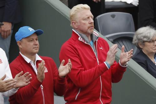Huyền thoại Boris Becker có công lớn đối với sự nghiệp của Djokovic