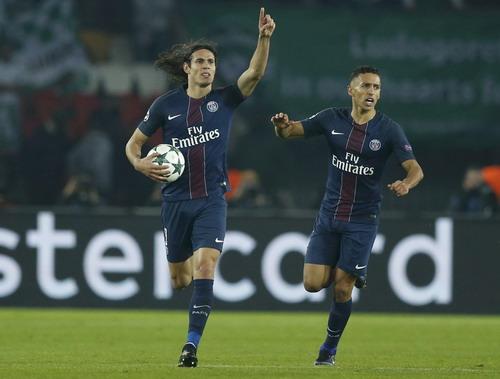 Mất Ibrahimovic, PSG trông cậy vào Edinson Cavani