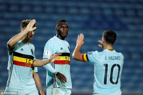 Benteke lập kỷ lục ghi bàn nhanh nhất World Cup