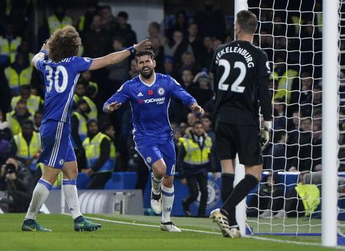 Diego Costa đằm tính hơn, hiệu quả hơn tại Chelsea mùa này