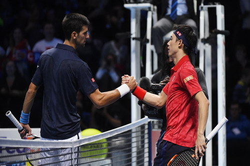 Djokovic vào chung kết
