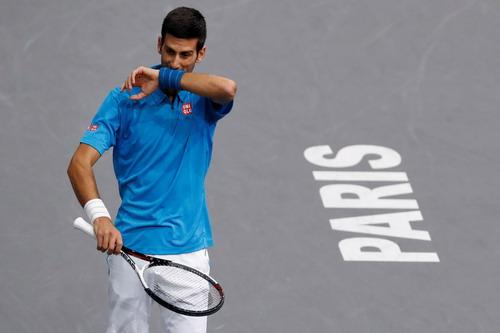 Djokovic thua đơn, thiệt kép, mất cả ngôi vô địch Paris Masters lẫn vị trí số 1 ATP