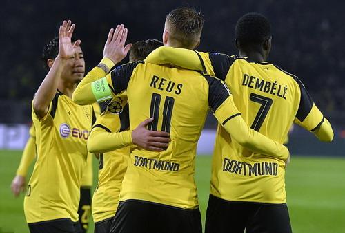 Marco Reus trở lại, Dortmund có chiến thắng hoành tráng ở Champions League