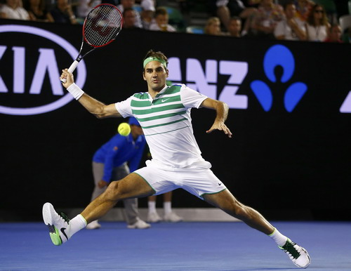 Federer lần đầu dự giải ở vị trí hạt giống số 17