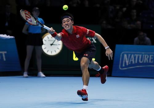 Kei Nishikori khởi đầu ấn tượng tại London