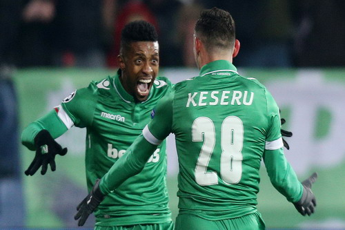 Keseru và Cafu đưa Ludogorets vượt lên trong 15 phút đầu trận