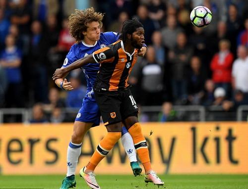 David Luiz đang chứng tỏ sự hòa nhập của mình ở Chelsea