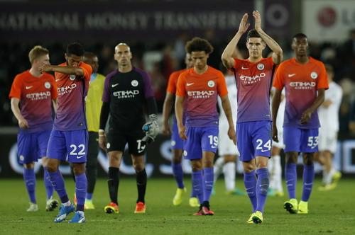 Man City giành chiến thắng trước Swansea