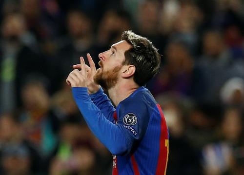 Messi là biểu tượng chiến thắng của Barcelona