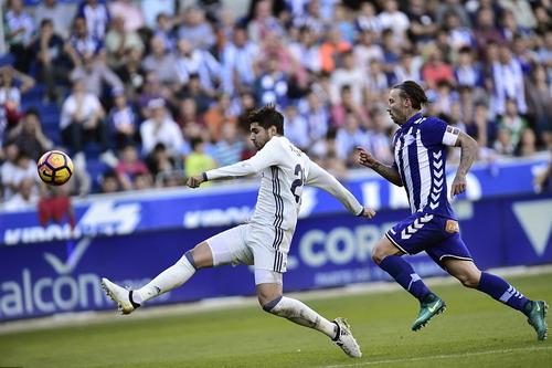 Siêu dự bị Alvaro Morata liên tục lập công cho Real