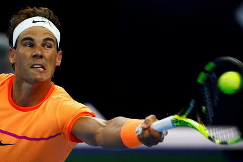 Nadal thi đấu đầy nỗ lực nhưng liên tục bị mất break