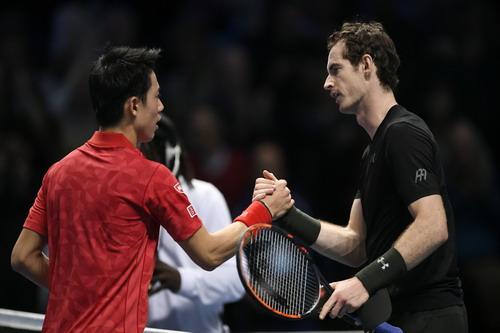 Nishikori chưa hết hy vọng vào bán kết ATP Finals