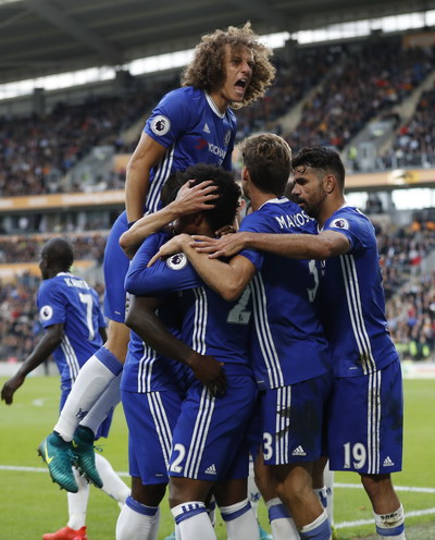 Niềm vui trở lại với Chelsea