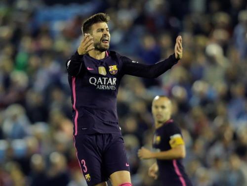Pique lập cú đúp, Barcelona vẫn trắng tay