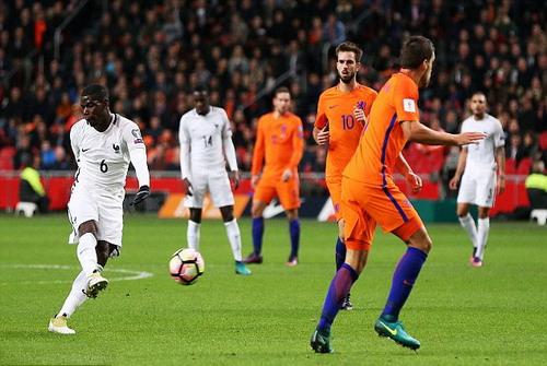 Paul Pogba lập siêu phẩm, Pháp đánh bại chủ nhà Hà Lan