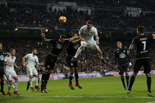 Sergio Ramos tiếp tục là cứu tinh cho Real Madrid ở phút bù giờ