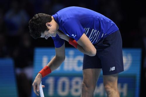 Raonic tái phát chấn thương vai trong trận đấu