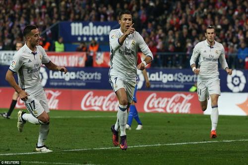 Ronaldo đoạt giải Vua phá lưới Champions League