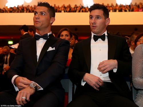Messi và Ronaldo là hai siêu sao sân cỏ, nắm giữ kỷ lục về thu nhập
