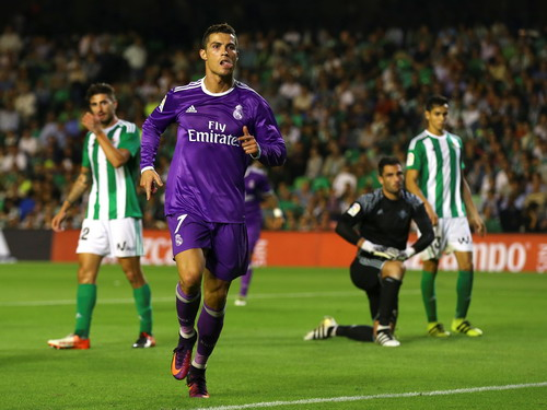 Ronaldo đã bắt nhịp trở lại với Real Madrid