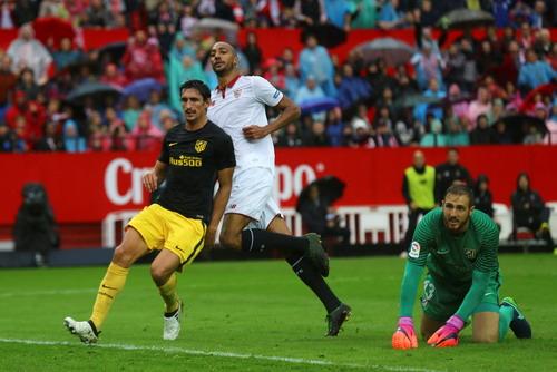 Steven NZonzi ghi bàn duy nhất, giúp Sevilla đánh bại Atletico