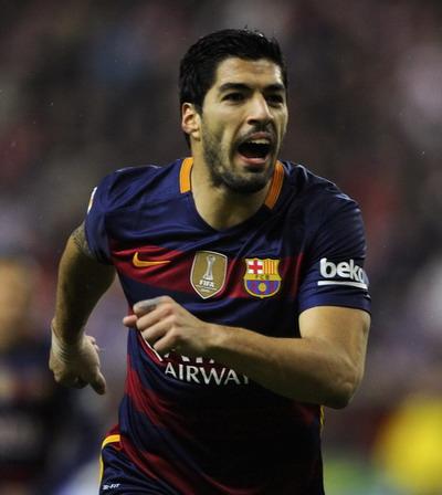 Tầm ảnh hưởng của Suarez tại La Liga không kém Ronaldo và Messi