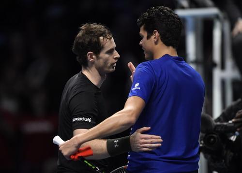 Murray bị vắt kiệt sức ở trận bán kết với Raonic