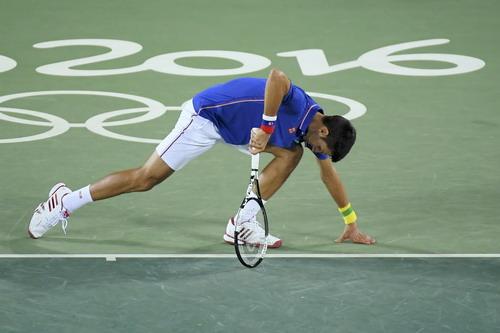 Thảm bại của Djokovic ngay trận mở màn Olympic Rio 2016